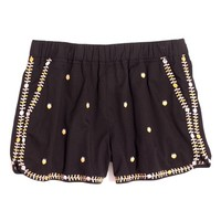 Madewell Springtime Embroidered Pull-On Shorts   Nordstrom