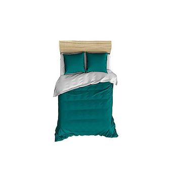 Solid Teal Small Comforter