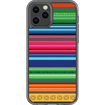 Traditional Mexican Serape Clear Phone Case