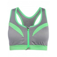 Mid Impact Sports Bra - Gray M