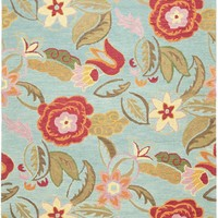 Blossom Country & Floral Indoorarea Rug Blue / Multi