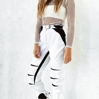 Full Throttle Motoski Pants White