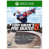 Tony Hawks Pro Skater 5 Xbox One Video Game