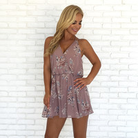 Sweet Symphony Floral Romper