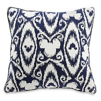 Disney Parks Mickey Mouse Icon Indigo Pillow new