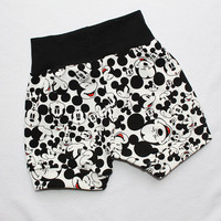 Mickey Mouse Disney Baby Boy Bubble Shorts 18-24 months Baby Shorties Toddler Girl Bloomers Infant Cuff Shorts Baby Boy Disneyland Outfit