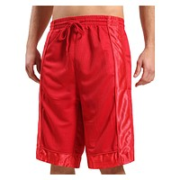 Mens Basketball Sport Short Pants with Detail Panels (CLEARANCE)