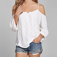 Shelikeit Women Sexy Off Shoulder Lace 2016 Summer Beach T shirt White Elegant Tops Long Sleeve Loose Casual