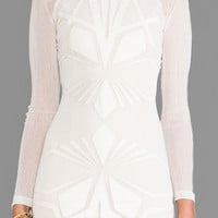 bless'ed are the meek Shapes Dress in Cream