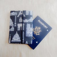Passport Wallet/ Passport Cover/ Passport Holder/ Gifts for Travelers/ Mothers Day Gift/ Gift for Her/ Coworker Gift/ Travel Wallet/ Gift