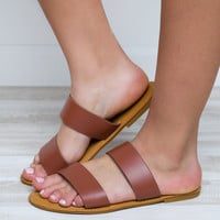 Believe Me Sandals - Tan