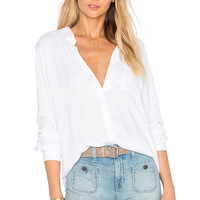 Rails Hunter Button Down in Ivory