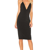Jay Godfrey Davies Dress in Black