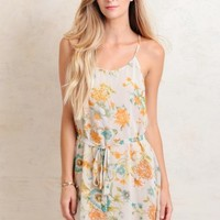 Coastal Summer Floral Dress
