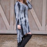 Hippie Chic Tie Dye Dress-Plus Size
