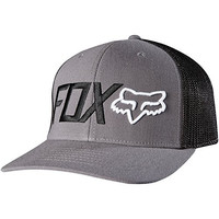 Fox Racing Mens Warmup Flexfit Hat Large/X-Large Charcoal