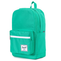 Herschel Supply Co.: Pop Quiz Backpack - Kelly Green Rubber