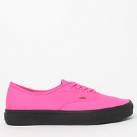 Vans Women's Black Outsole Authentic Low-Top Sneakers at PacSun.com