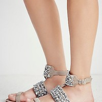 Free People All That Sparkles Sandal