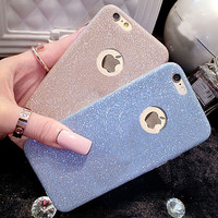 2016 Cheap Glitter Bling Cute Candy Cover For iPhone 6 Case Crystal Soft Gel TPU Phone Cases For iPhone6 6S 5 5S 6 Plus 6SPlus