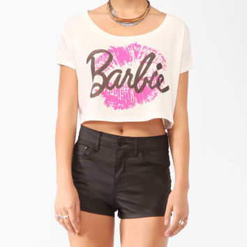 Cropped Barbie™ Tee | FOREVER21 - 2000045824