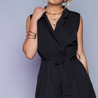 Tessa Playsuit Black