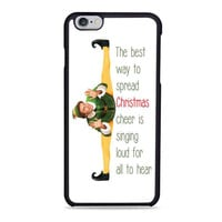 Funny Christmas Elf Movie Quotes movie Iphone 6 Cases