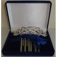 "Twilight Breaking Dawn ""Bella's Hair Comb in Velvet Box"