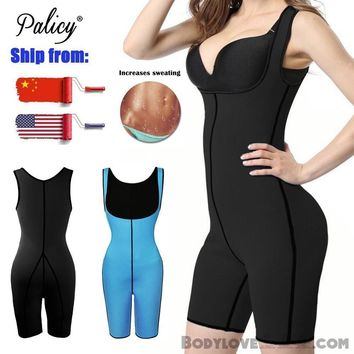 Sauna Vest Women's Neoprene Waist Trainer Body Shaper