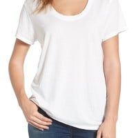 Treasure&Bond Burnout Boyfriend Tee | Nordstrom