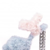 Jeffrey Campbell Shoes ELVINA-JHF New Arrivals in Light Blue Light Pink