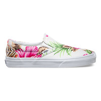 Hawaiian Floral Slip-On | Shop Now Entering Paradise at Vans