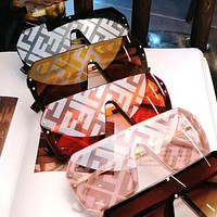 FENDI Newest Popular Women Men Casual Shades Eyeglasses Glasses Sunglasses