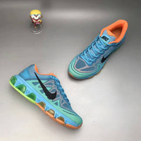 """NIKE"" Fashion Casual Multicolor Breathable Unisex Air Cushion Sneakers Couple Running Shoes"