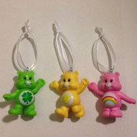 Care Bears Ornament - PICK YOUR BEAR [4 Bears available] - re-purposed toys