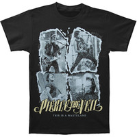 Pierce The Veil Men's  This Is A Wasteland Photo T-shirt Black