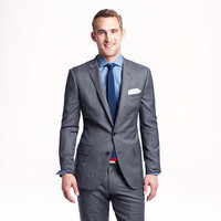 Ludlow suit jacket with double vent in Italian worsted wool - The Ludlow Shop - Men - J.Crew