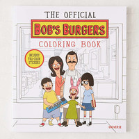 The Official Bobs Burgers Coloring Book By Loren Bouchard & The Creators Of Bobs Burgers - Urban Outfitters