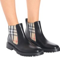 BURBERRY Leather Chelsea boots-2