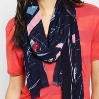 Urban Outfitters - Cooperative Map Scarf