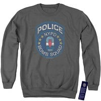 NYPD Sweatshirt Police Bomb Squad Charcoal Pullover