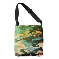 Coll Camouflage Pattern Tote