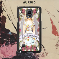 Marina And The Diamond - I Hate Everything Samsung Galaxy Note 3 Case Auroid