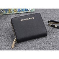 Michael kors classic counter models women's exquisite stylish high quality clutch F-OM-NBPF Black