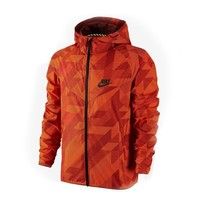 Nike Men Cardigan Jacket Coat Windbreaker