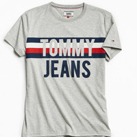 Tommy Hilfiger Colorblock Font Tee | Urban Outfitters