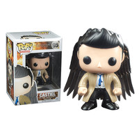 Funko Pop Television Movies Super Natural Castiel With Wrings Dean Labyrinth Jareth Pvc Action Figure Toy Vinyl Figurine Model