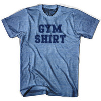 Gym Shirt T-shirt, Athletic Blue