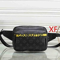 Boys & Men Louis Vuitton Men Fashion Casual Leather Tote Satchel Handbag Crossbody