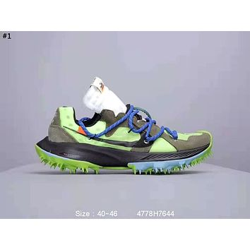 Nike Terra Kiger 5 x OFF-WHITE Joint Sports Running Shoes #1